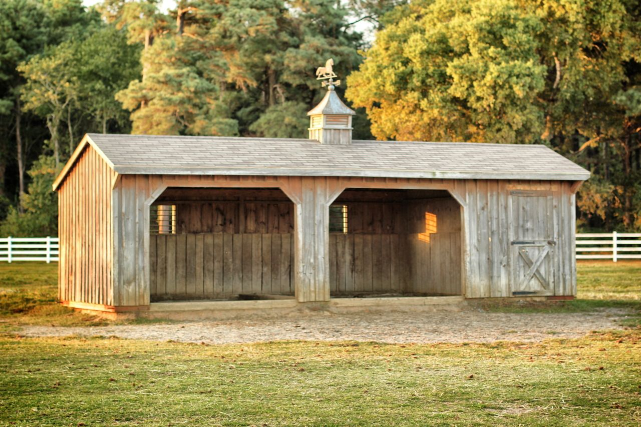 for with horses mini run horse horizon structures pony barns sheds shed in barn miniature kits small
