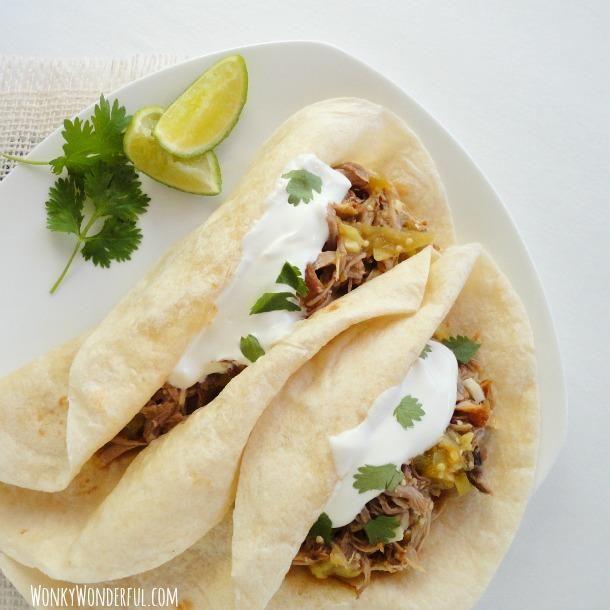 How To Make Taco Recipe : Pork Verde Tacos