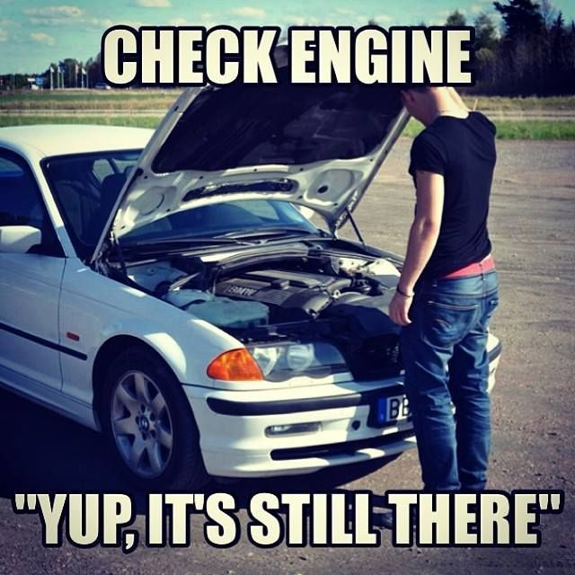 Car Broke Down Car Engineer Funny