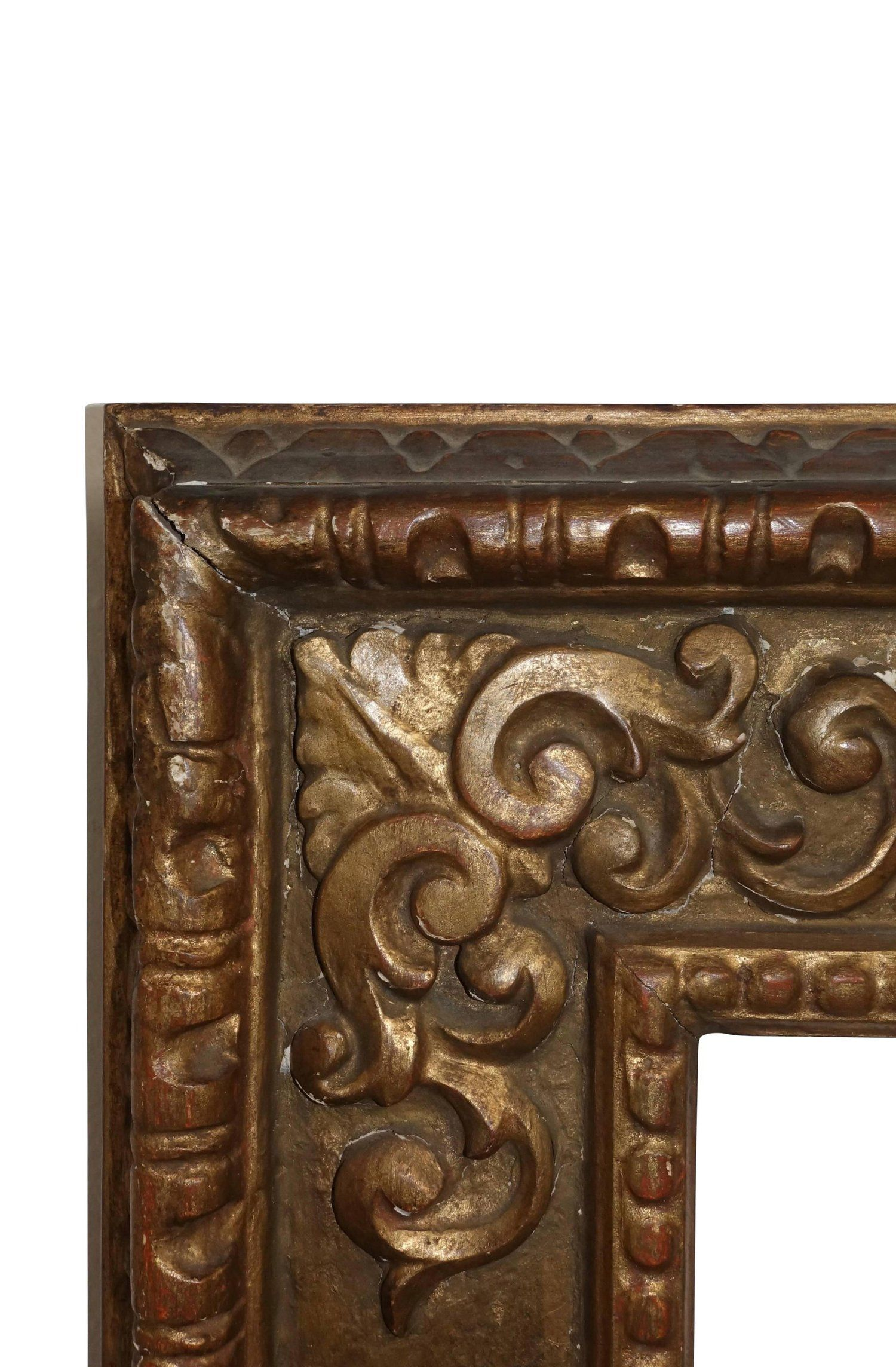 18th Century Spanish Colonial Carved and Gilt Frame | Pinterest ...