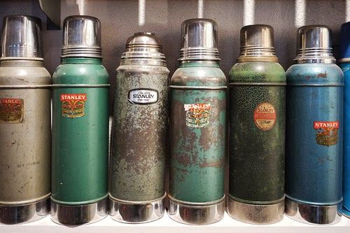 Stanley thermoses are bada$$. I wish i had a vintage one, but my ...