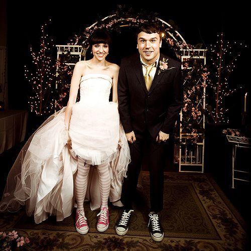 Max Bemis and Sherri Dupree  Converse...[:
