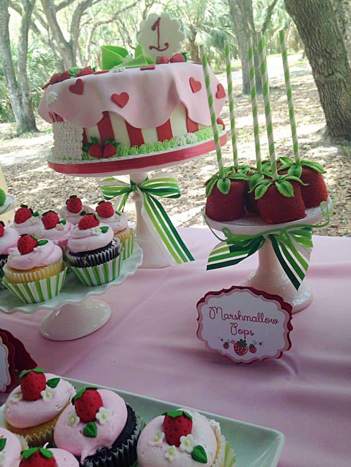 Strawberry Shortcake Birthday Party Via Karas Party Ideas