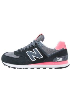 New Balance WL574 - Sneaker low - black/pink für 99,95 ...