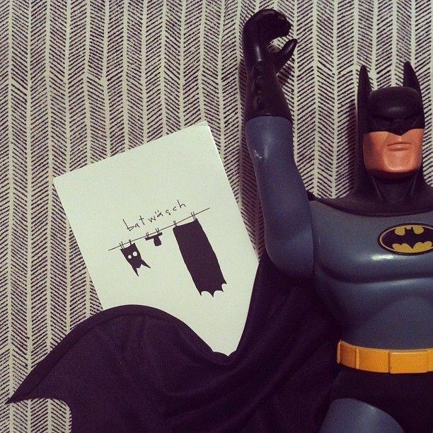 .@heimatpottential | Wenn Du spätabends an den Briefkasten gehst, und einen Flyer von Batmans Stam...