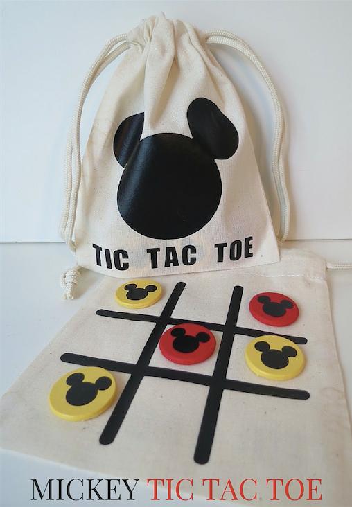 Mickey Tic Tac Toe in a Bag