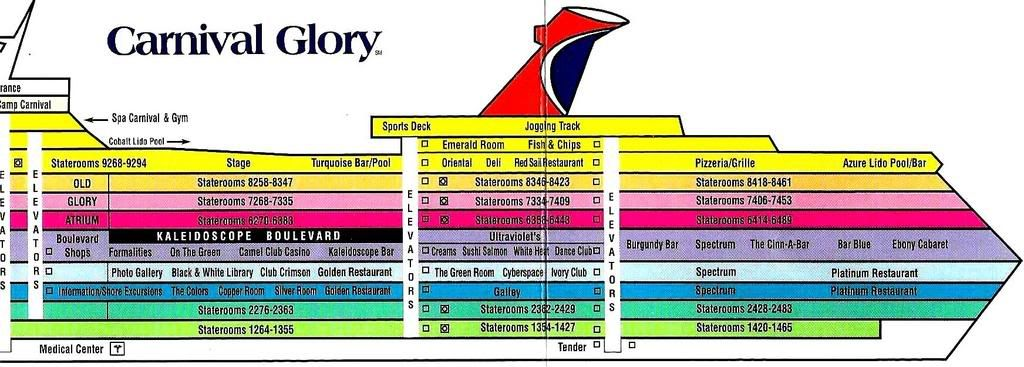 Carnival Magic - Itinerary Schedule, Current Position ...