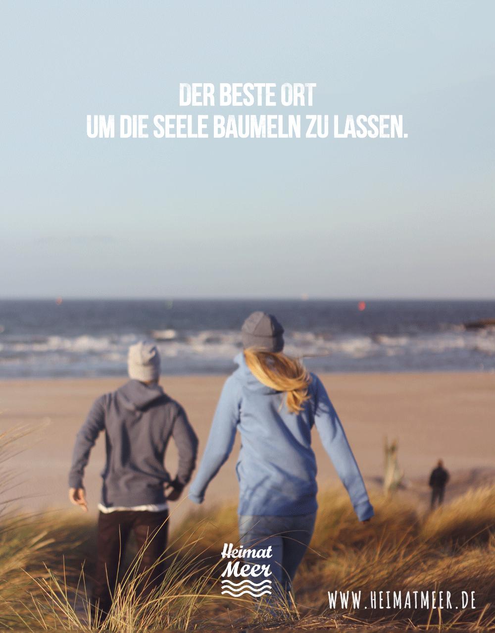 Der Beste Ort Um Die Seele Baumeln Zu Lassen Hoodies Mee H R Spruche Fur Die Seele Strand Spruche Strand Zitate