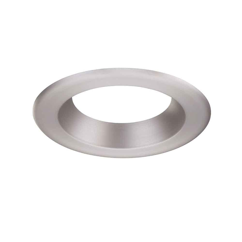 Recessed Lighting Trim Rings Envirolite 6 Indecorative Brushed Nickel Trim Ring For Led