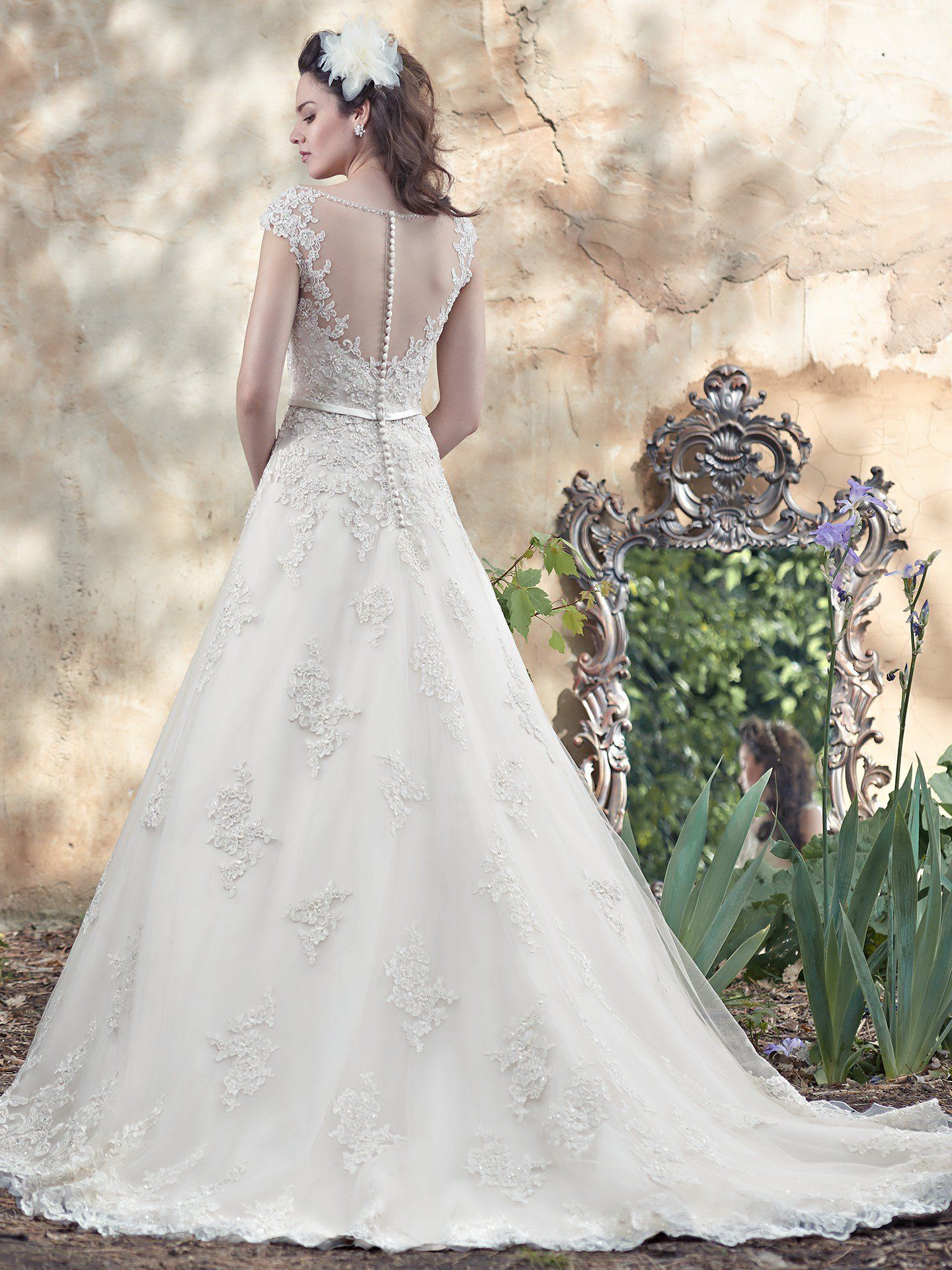 Fairytale ball gown wedding dresses  Maggie Sottero Wedding Dresses  Maggie sottero Wedding dress and
