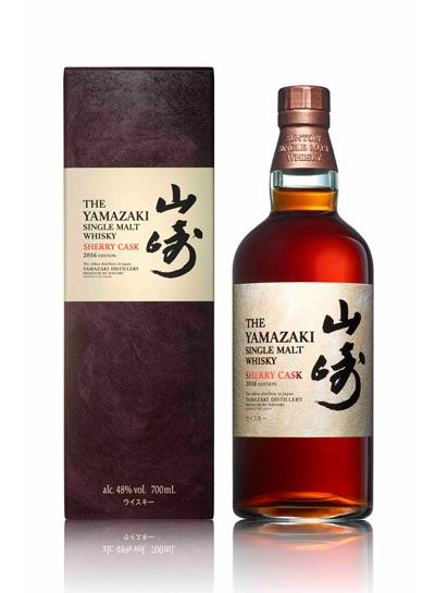 The multi award winning Japanese distillery of Yamazaki has announced the release of the 2016 Edition of its Sherry Cask expression.  There will be just 5,000 bottles worldwide and the whisky has been taken from ex-Oloroso sherry casks hand selected by Shinji Fukuyo, the Chief Blender at Suntory.  It joins three other expressions in the Yamazaki Cask Collection - the Bourbon Barrel, Mizunara & Puncheon.  The Sherry Cask 2016 is priced at £200 per bottle