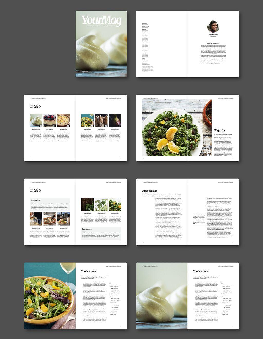 Nuovi template gratuiti per riviste su indesign graphic for Riviste design