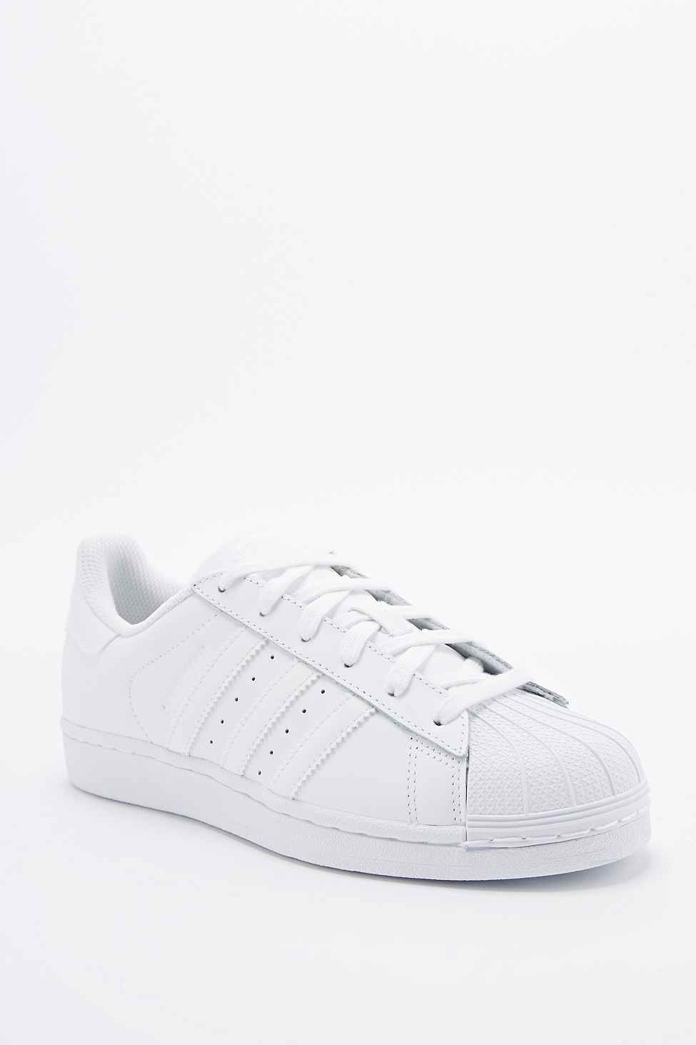 brand new 80d54 be8c7 Adidas Superstar 80s Trainers in All White