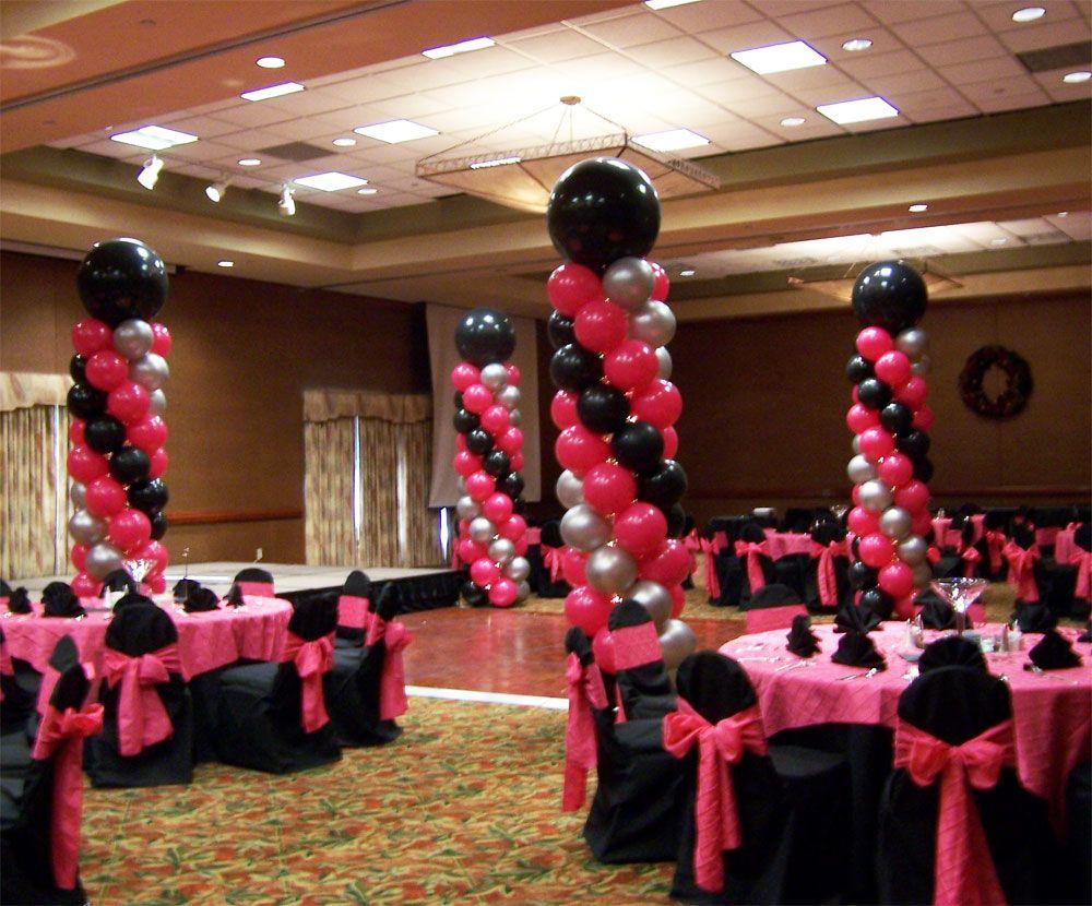 Ideas de decoraci n de salones para 15 a os balloon for Decoracion salones