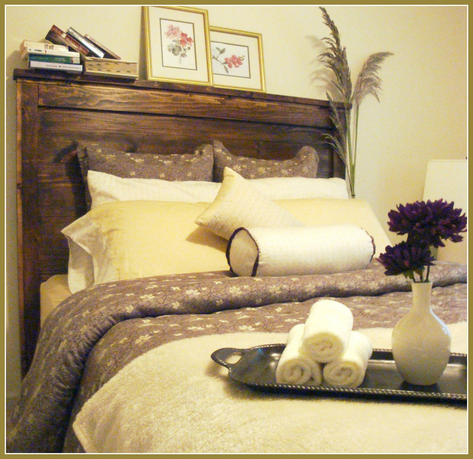 Barn Wood Headboards Beds | Start By Saying, If I Can Build This So Can  YOU! I Needed A Headboard .