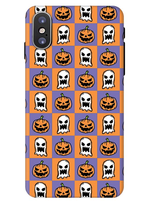 new york 95bfb 03c9c Pumpkin and Ghost iPhone X Case. Best Halloween Phone Case 2018 ...