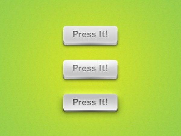 3D button PSD