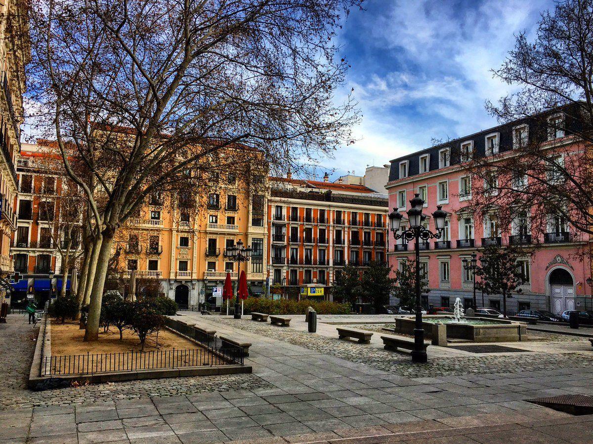 Plaza Del Rey Madrid Monumentos Turismo