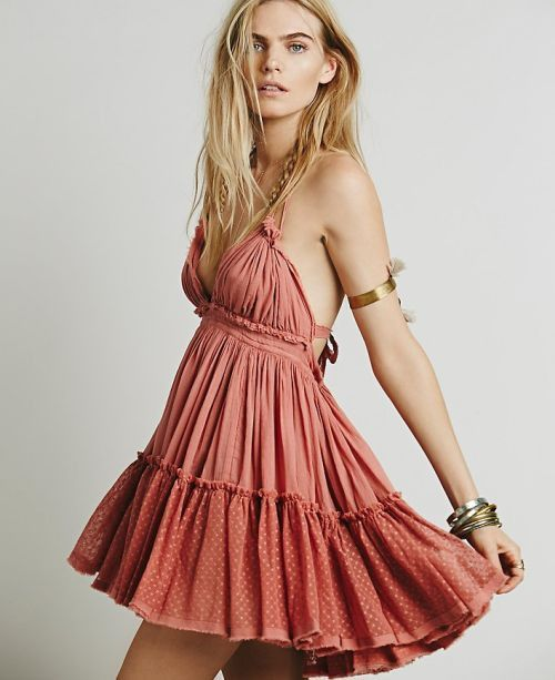 Boho Backless Summer Lace Mini Dress