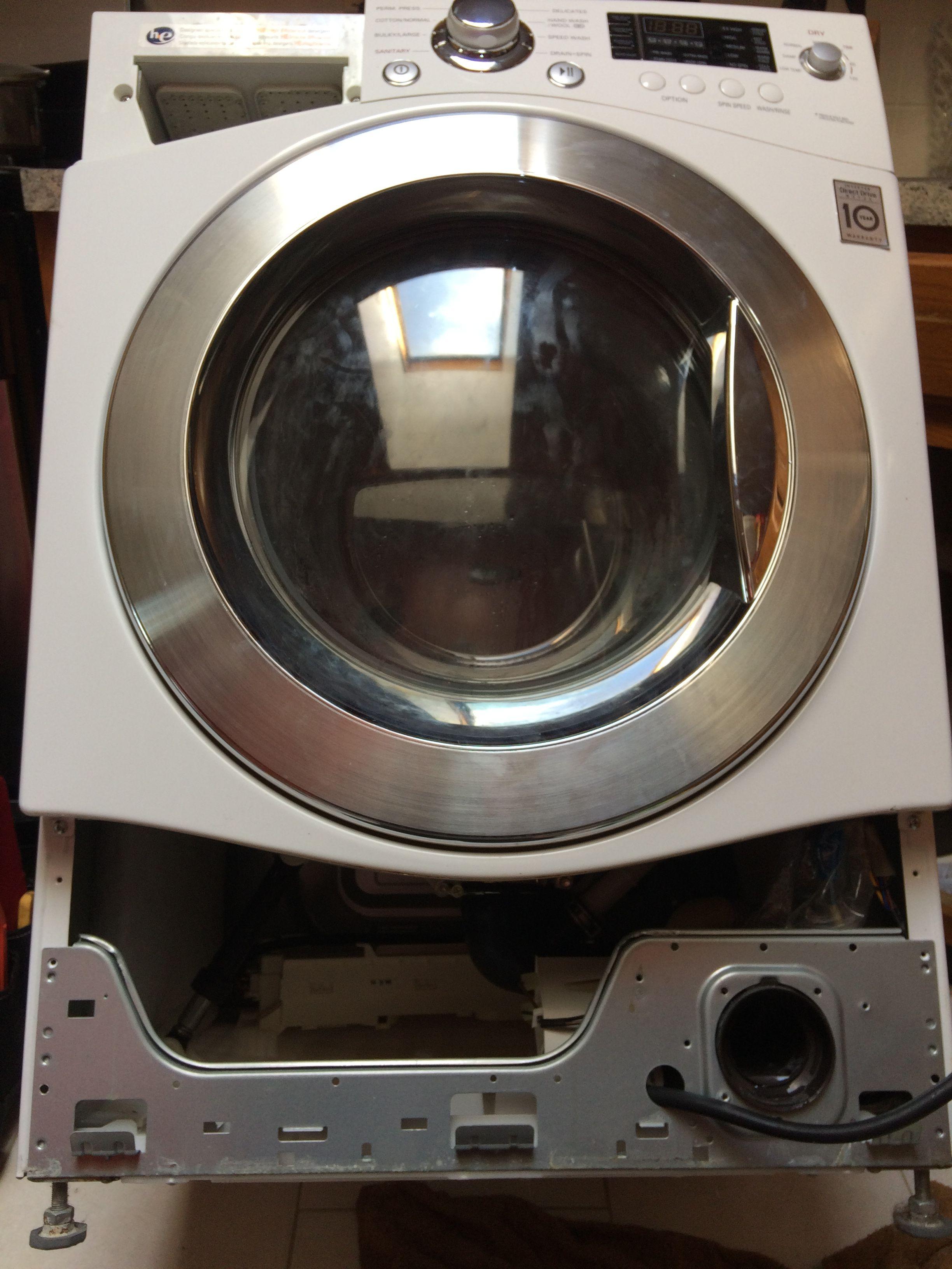Samsung Front Load Washing Machine Error Code OE How To