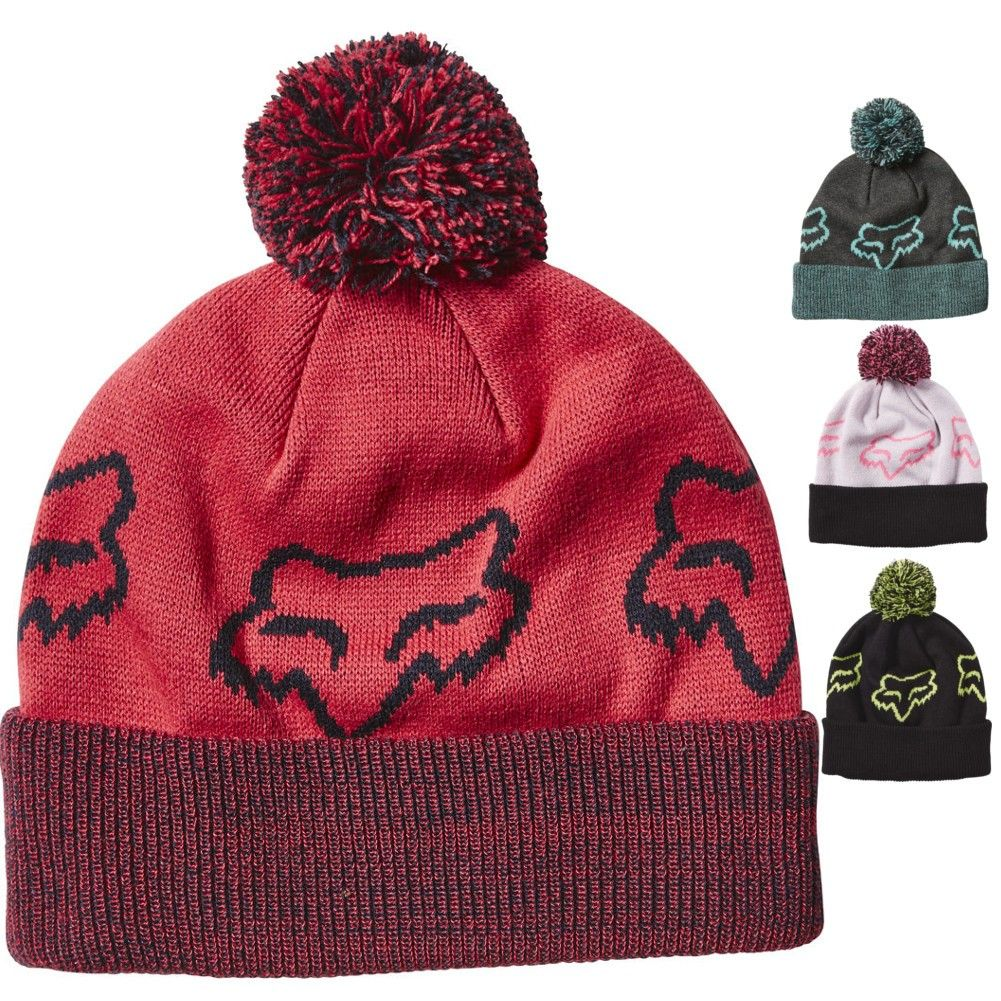 8ab71b531cd Fox Racing Particle Womens Acrylic Hats Caps Winter Motocross Beanies