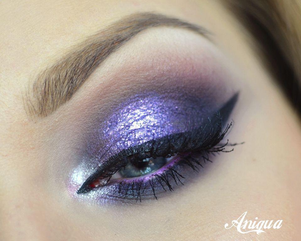 Violet Smokey Makeup Tutorial By Antiqua Makeup Makeup Geek Eyeshadows In Cupcake Fairytale Purple Rain Wisteria Cruelty Free Makeup Makeup Purple Makeup