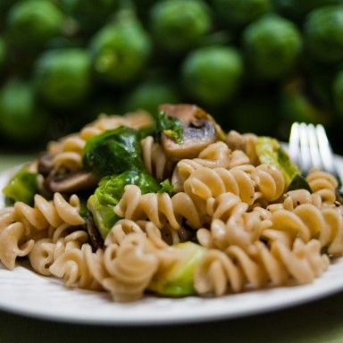 recipe: spinach brussel sprout pasta [29]