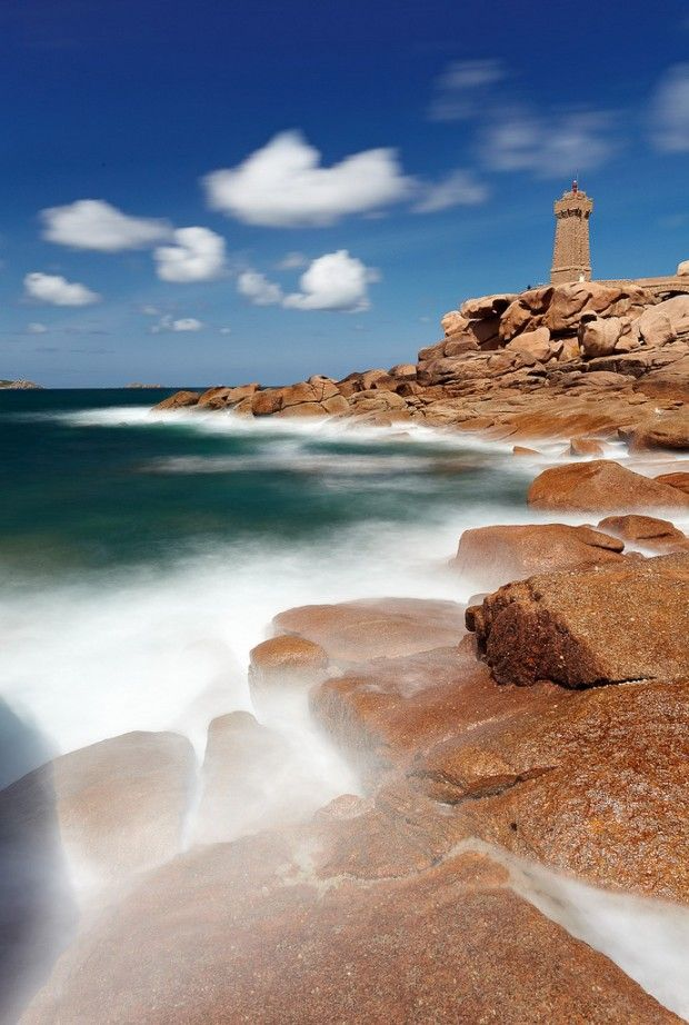 76 Admire The Pink Granite Coast In Perros Guirec Brittany France France Travel France