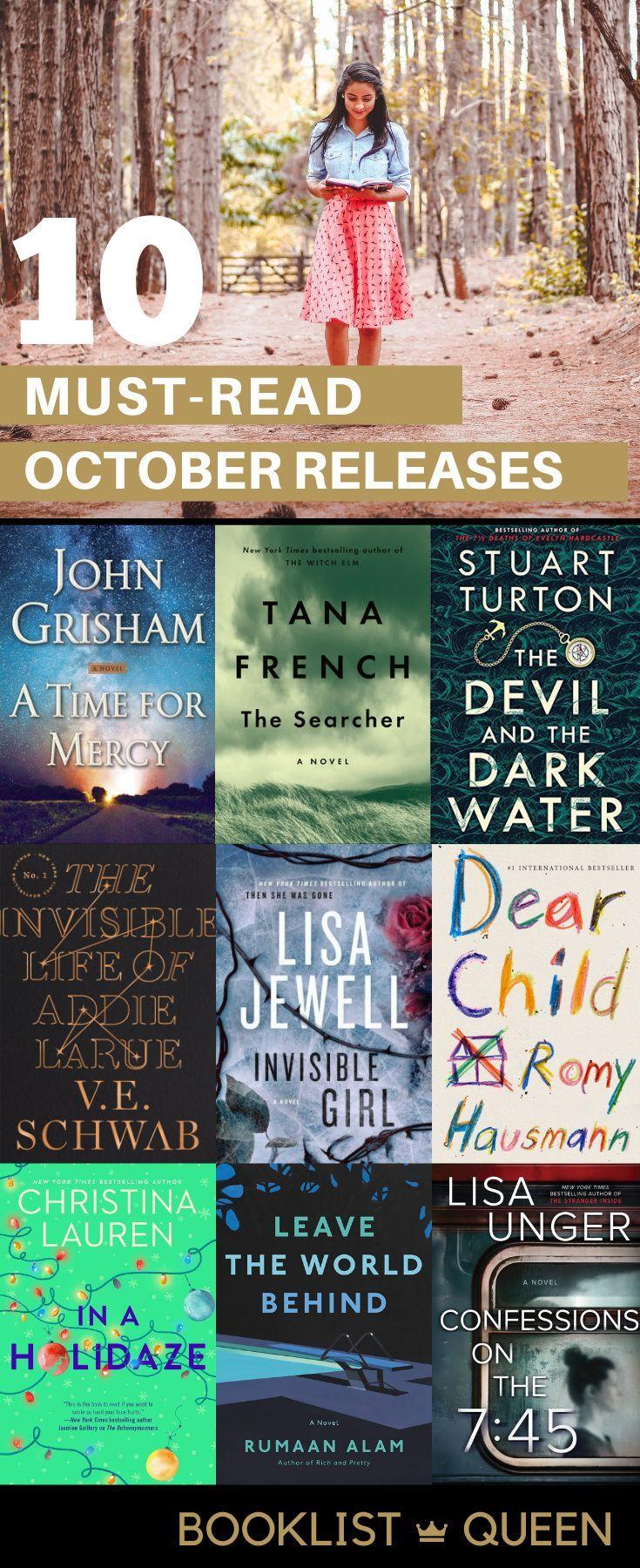 Best Halloween Book Releases 2020 October 2020 Book Releases in 2020 | Book club books, Books, Book