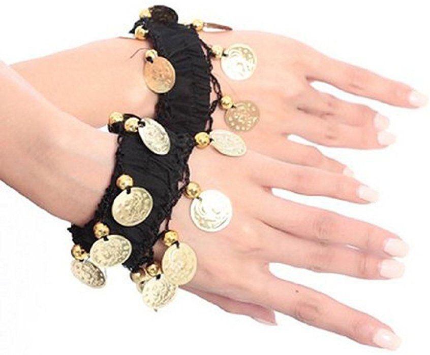 Amazon com: BellyLady Belly Dance Wrist Ankle Cuffs