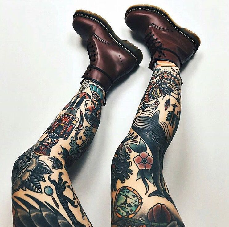 Pin By Cait Battle On Tattoos Leg Tattoos Piercing Tattoo