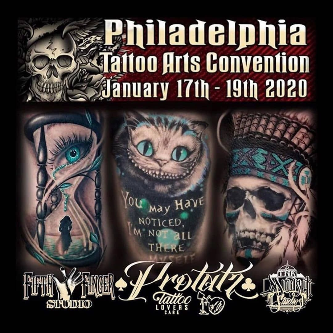@protatz will be joining @villainarts for the 22nd Annual Philadelphia Tattoo Arts Convention January 17th - 19th...