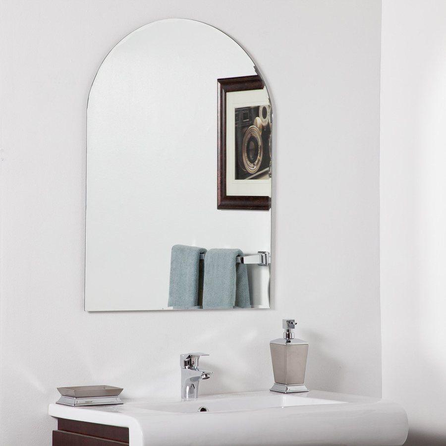 Decor Wonderland Rita 23 6 In Arch Bathroom Mirror Lowes Com Modern Bathroom Mirrors Modern Mirror Wall Mirror Wall Bathroom [ 900 x 900 Pixel ]