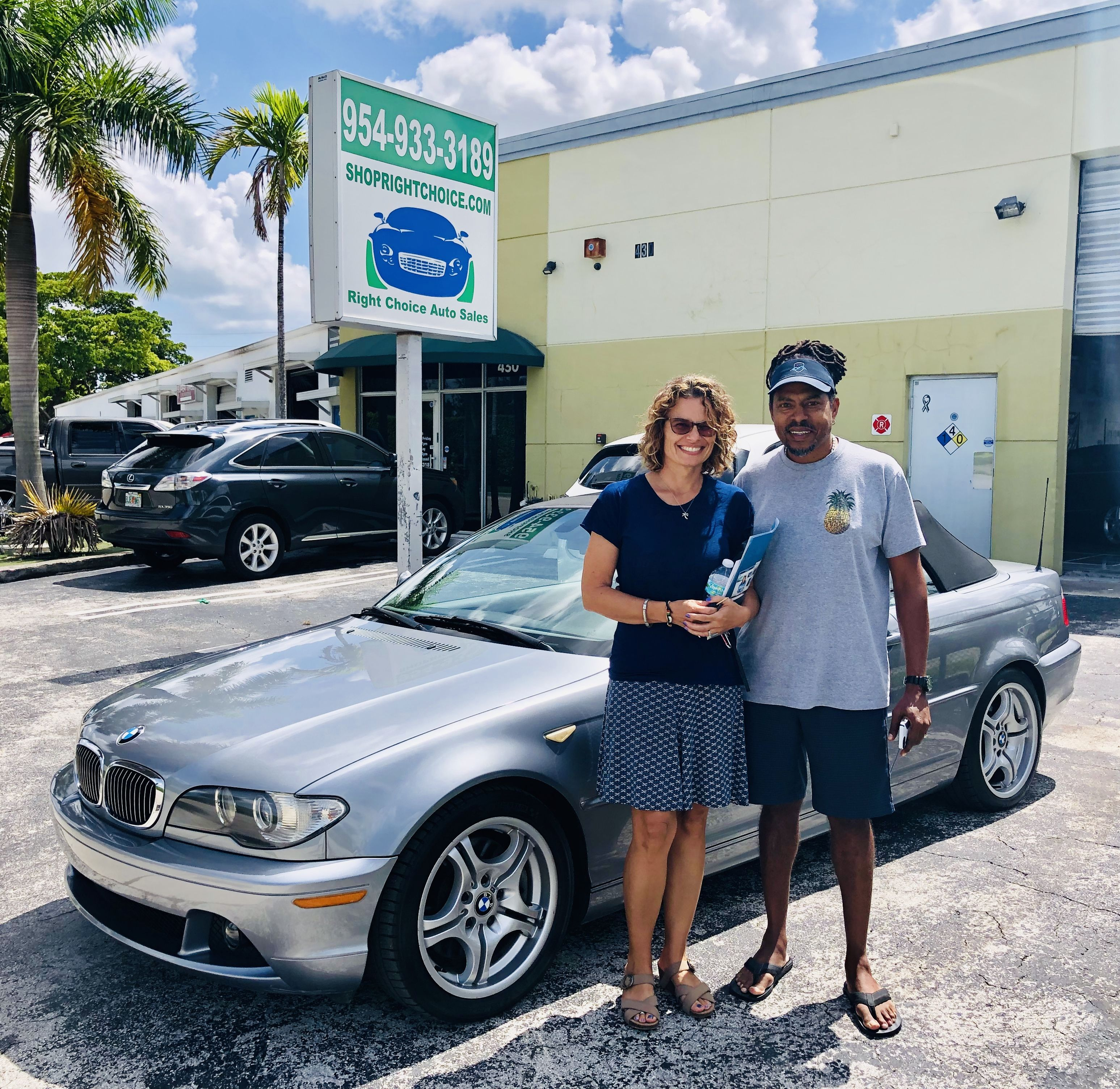Right Choice Auto >> Norman And Karen Took Home This Awesome 2004 Bmw 330ci From