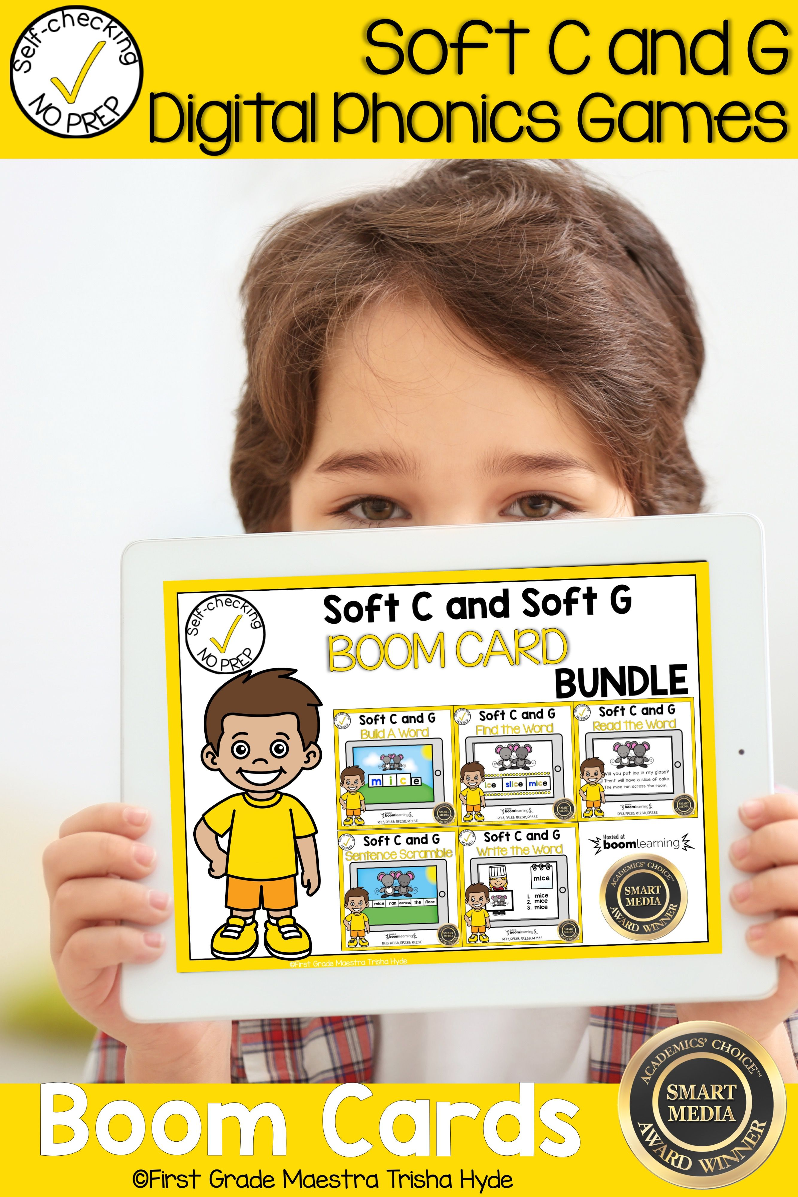 Boom Cards Soft C And G Bundle