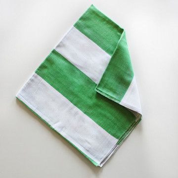 Mighty Stripe Towel Leaf, 23€, now featured on Fab.