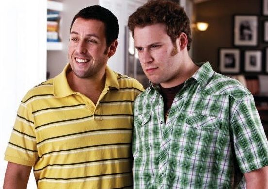 Adam Sandler Seth Rogan Yas Just For Gags Funny People Funny People Movie