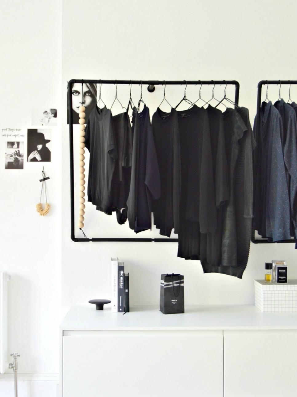12 No Closet Clothes Storage Ideas