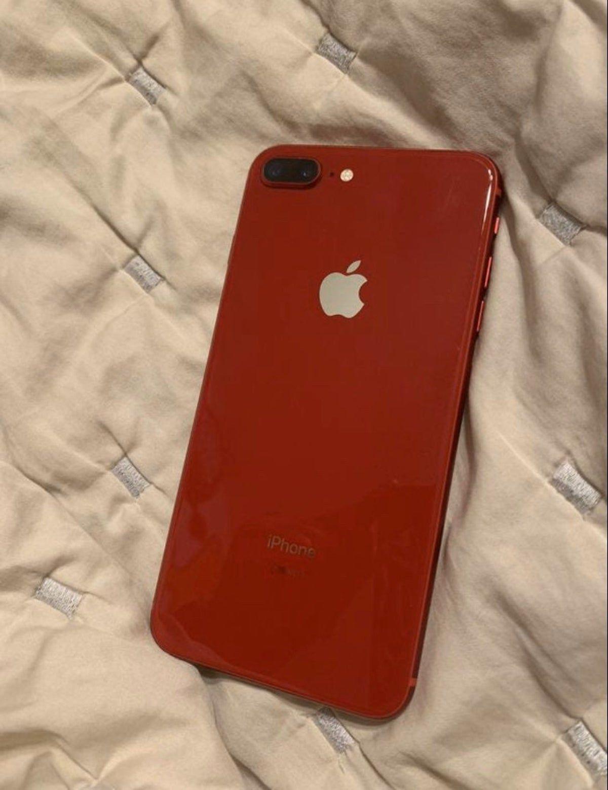 Red Iphone 8 Plus 64 Gb Att Iphone Iphone 8 Plus Iphone 8