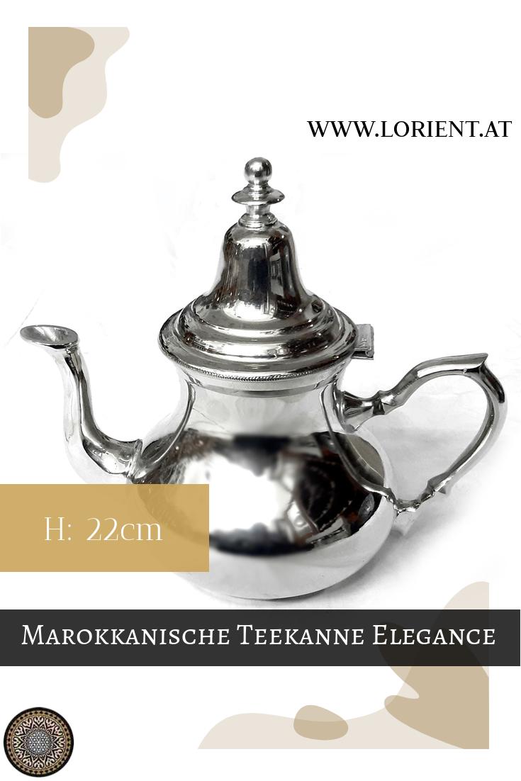 Grau Moroccan Home Decoration LORIENT Interior Marokkanische Keramikdose Orientalische Dekoration H:14cm