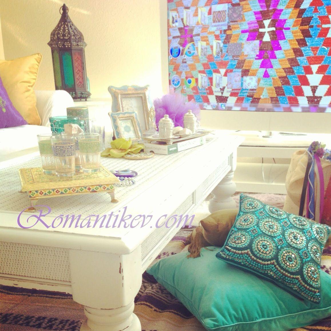 Bohemian decor Bohemian shabby chic style Boho ethnic style Turkish ethnic accessories Ottoman ethnic style Mix style