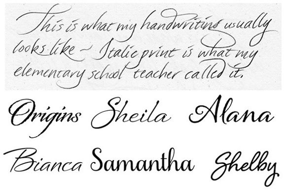 17 Best images about Pretty Handwriting... A lost art??? on ...