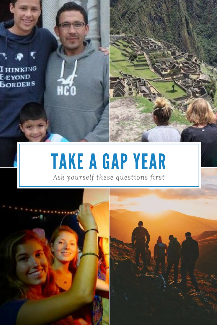 Questions To Ask Yourself As You Compare Gap Year Programs Gap Year Programs Gap Year Gap Year Travel
