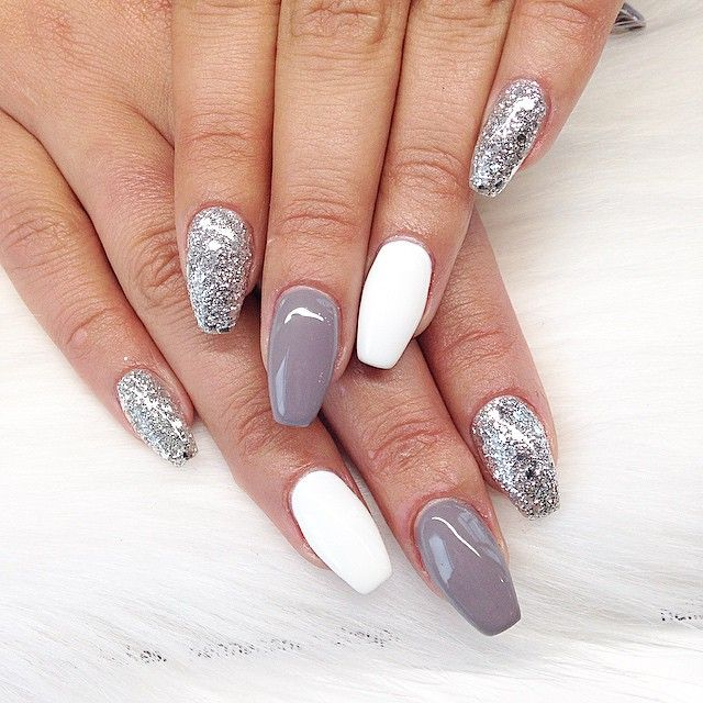 silver fox uv manicure done by yours truly amourbeautylounge nailsbyalex pinteres. Black Bedroom Furniture Sets. Home Design Ideas