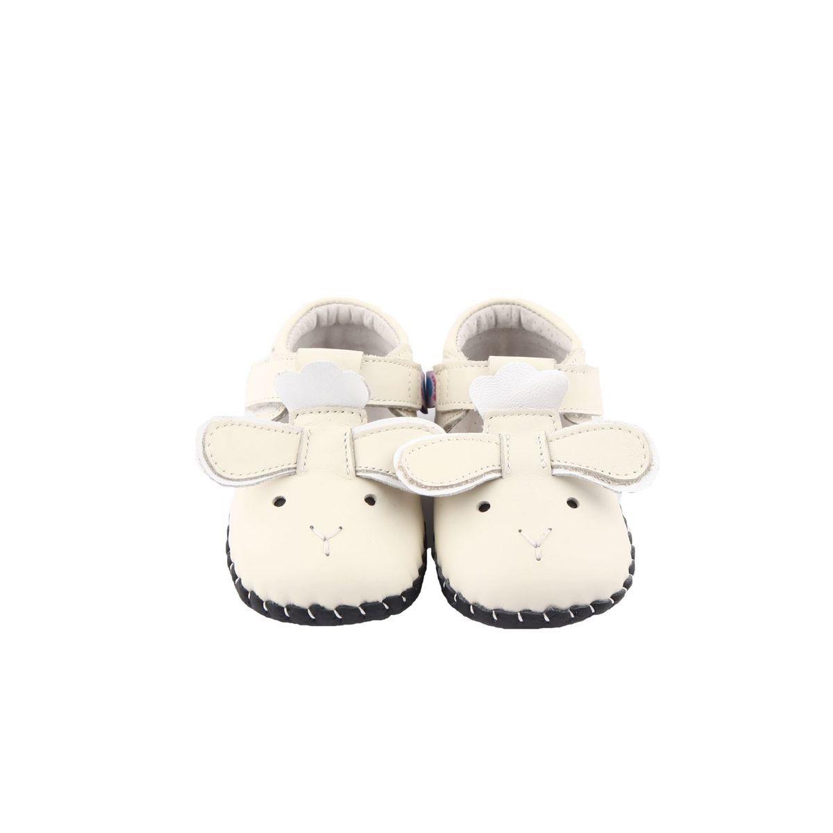 Chaussures Premiers Pas Cuir Souple Sandales Fermées Little