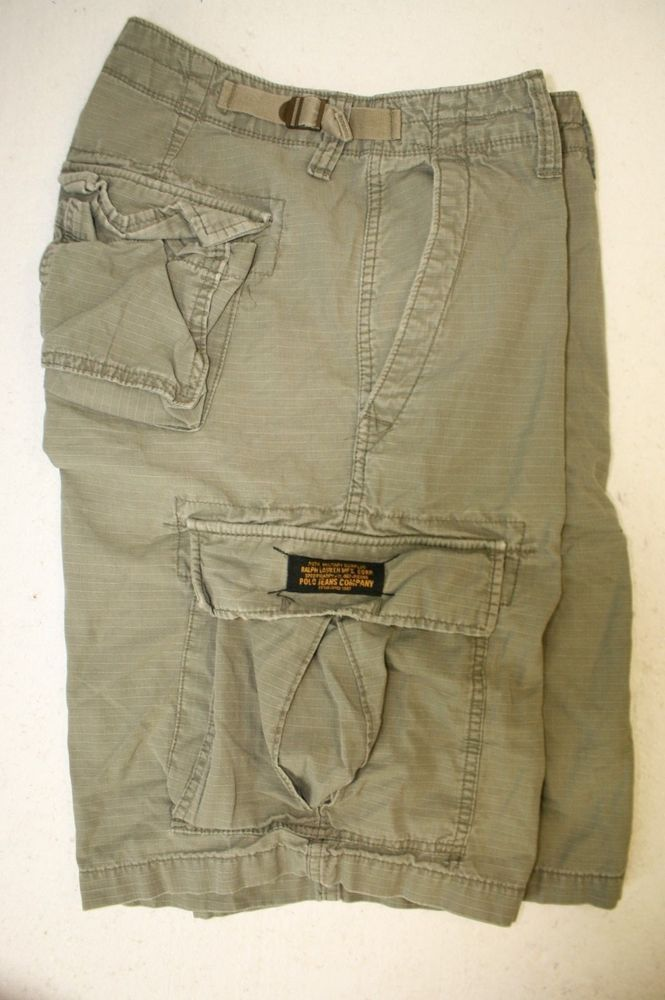 643d9979cb Ralph Lauren Polo Jeans Co Military Surplus Green Cargo Shorts (Men's 30)  2751 #POLOJEANSRALPHLAUREN #CargoShorts #RalphLauren