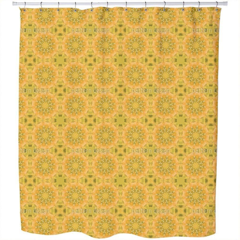 Uneekee Pandora Floral Shower Curtain