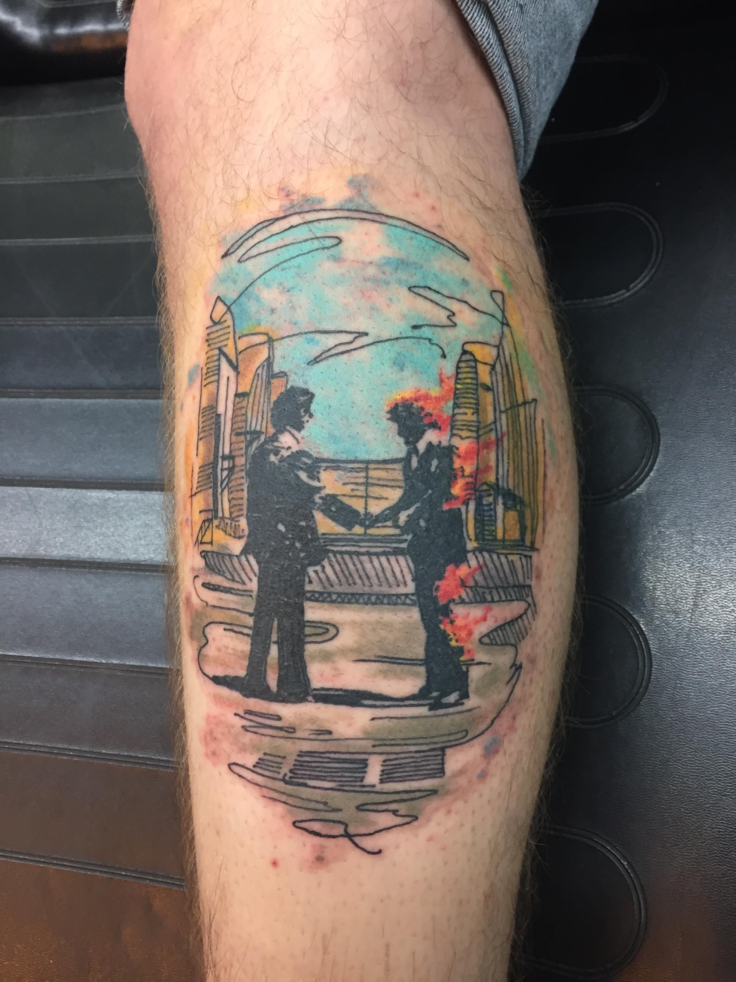 fe5e5994c27f8 Wish You Were Here by Scotty Tedrow at Empire Tattoos in Evansville ...