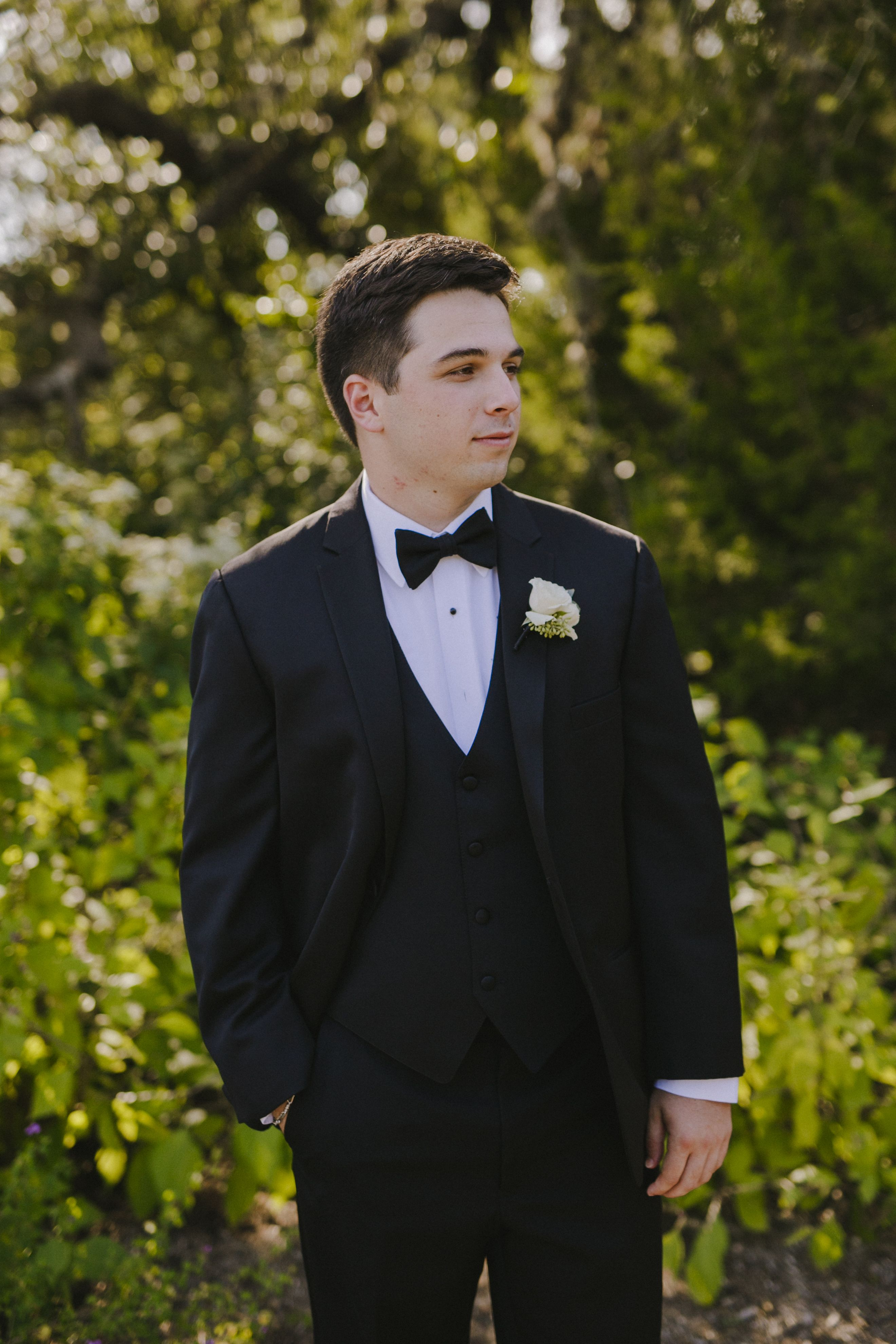 | Classic Tux | Camp Lucy | Dripping Springs, TX | JD swinger photography |
