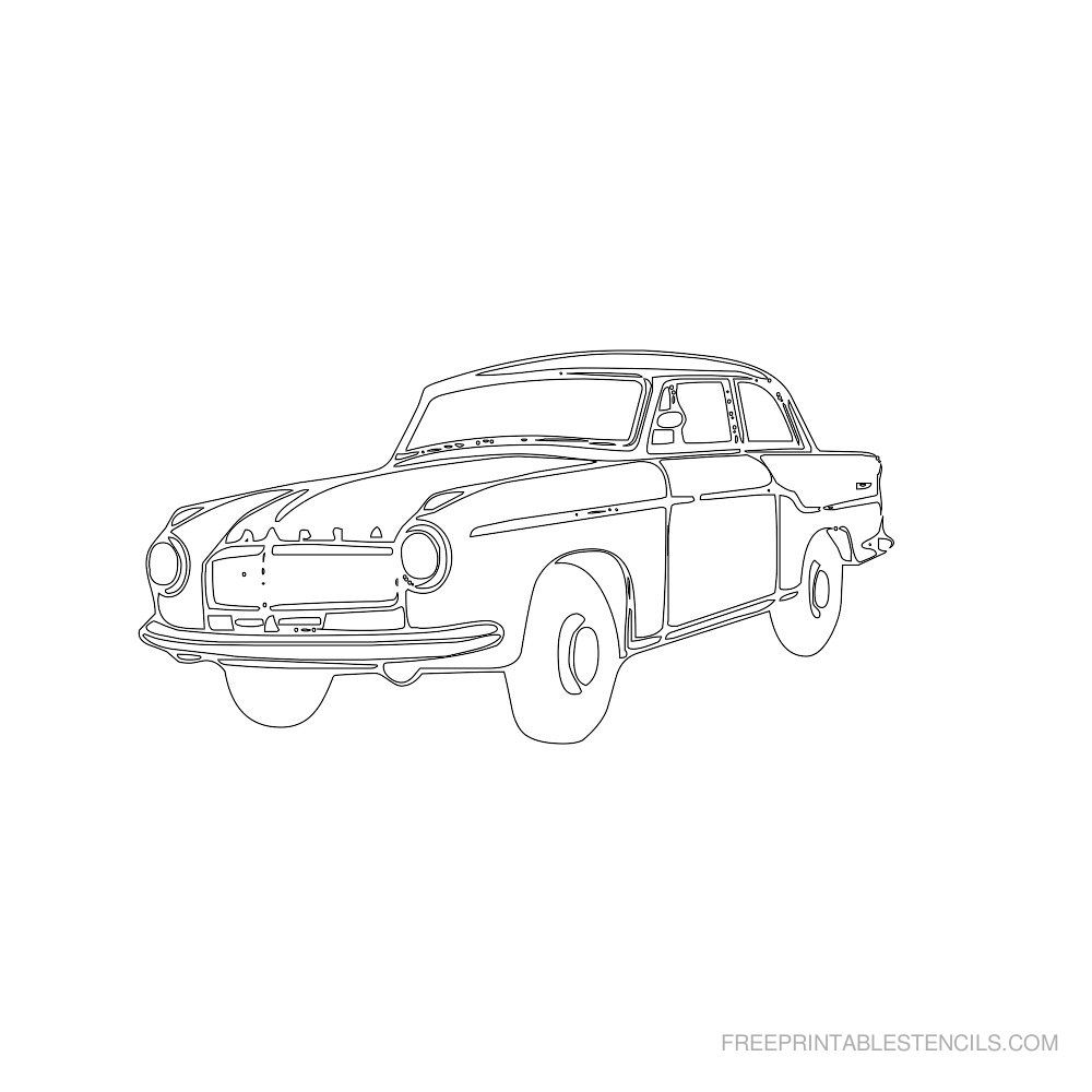 Free Printable Car Stencils With Images Free Stencils